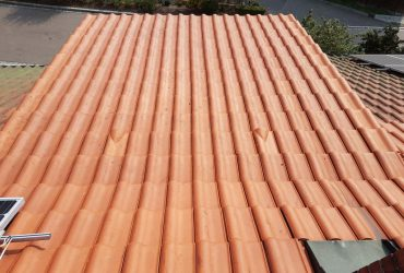 Dachreinigung: Dachfläche nachher
